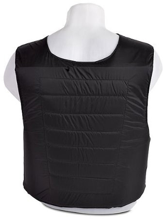 Black Concealed Cheap Body Armor 2