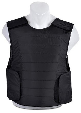 Black Concealed Cheap Body Armor