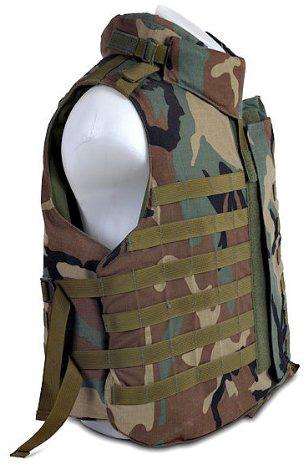 Tactical Camo MOLLE Bulletproof Vest